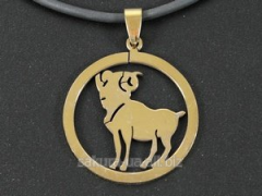 "Pendent of ""Zodiacus Gold"" R/01."