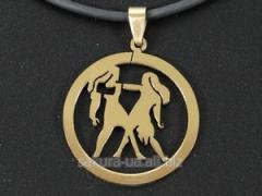 """Кулон """"Zodiacus Gold"""" R / 03."""