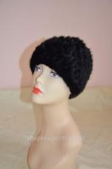 The cap is female, mink wattled sphere No.