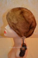 The cap is female, soft, mink No. 024ZhShN