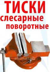 Тиски слесарные поворотные с наковальней 200 мм