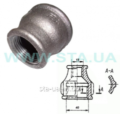 Coupling transitional pig-iron 40*15mm GOST