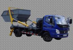 Автомобіль-бункеровоз KGP 8.2  з портальним