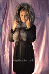 Sheepskin coat, top natural No. 016ShUB