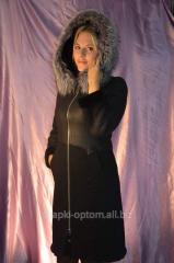 Sheepskin coat top natural No. 019ShUB