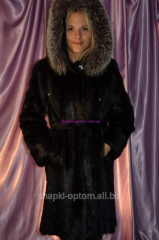 Fur coat nutria No. 021ShUB