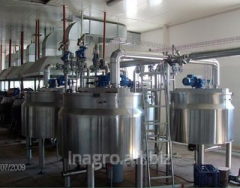 Disperse and colloid systems in the food industry