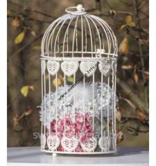 Cage decorative metal