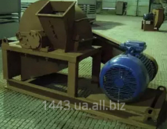 Installation for crushing of wood waste of UPDV -