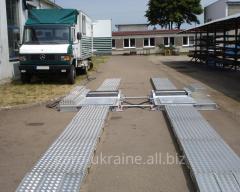 Stand Mobile roller brake Unimetal
