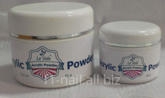 Acrylic powder, polymers for nail extension,