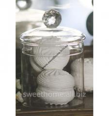 Glass jar Provence