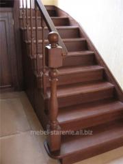 Лестницы для дома, деревянные лестницы на улицу, в