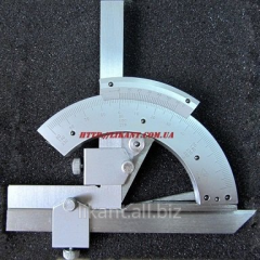 Goniometer with the nonius 127