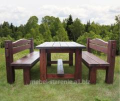 Деревянная мебель от производителя, столы и
