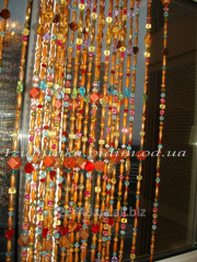 Curtain from beads the Eas