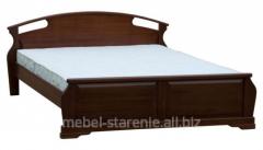 Двухспальные кровати из дерева, деревянная мебель