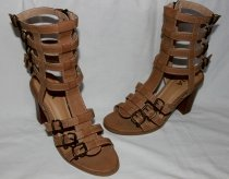 Barefoot persons boots from MIA belts