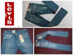 Levi's Skinny jeans for girls 2, 3, 4, 5, 6