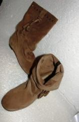 Suede jack boots of Blincs