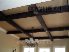 Деревянные потолки, качественные потолки из