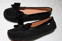 Soft completely leather orthopedic moccasins 37th