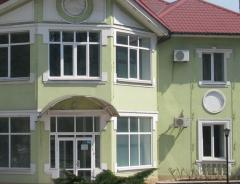 Алюминиевые окна. Применяются для остекления