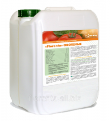 The Florenta microfertilizer for vegetable