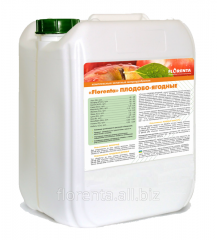 The Florenta microfertilizer for fruit and berry