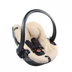 Cover on BeSafe car seat beige - iZi Go the Art: