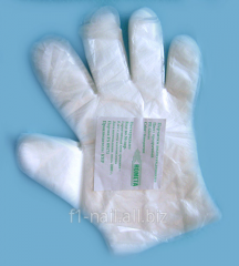 One-time gloves for work in salon, gloves for use