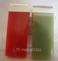 Wax for depilation, epilations, the Cartridge with