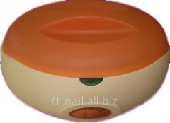 Bathtub for kindling of paraffin, capacity for