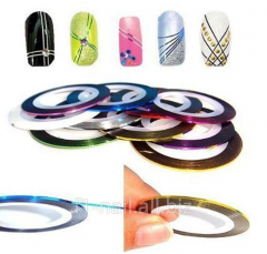 Tape for nails, accessories for manicure salons,