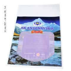 Упаковка для замороженных морепродуктов