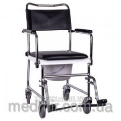 Wheel-chair with sanitary equipment of JBS