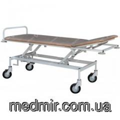 The cart for transportation of the patient with