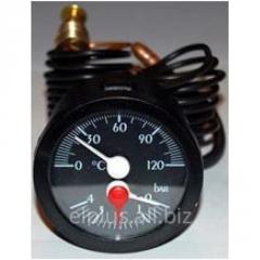 Thermomanometer of 120 °C / 4 atmospheres
