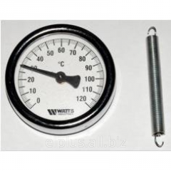 The thermometer bimetallic Watts F+R810 with a