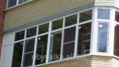 Balcony frames