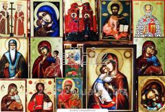 Иконы из бисера