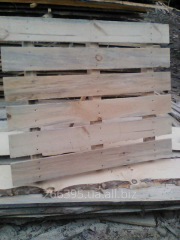 Pallet wooden: for a stone blocks, the