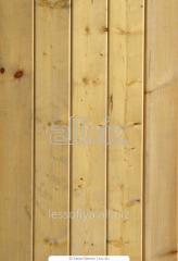 Вагонка из сосны для обшивки внешних стен зданий,