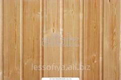 Lining wooden - sheathing board