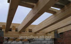 Beams wooden (we offer the wood on a roof, a beam