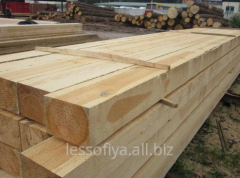 Construction wooden beams (we offer a beam wooden