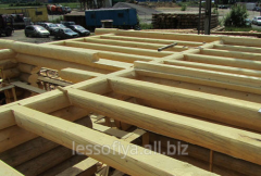 Beams for overlappings (we offer a beam wooden,