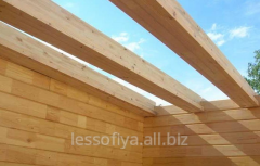 Beams from a tree (we offer a beam for a roof in