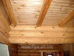 Beam wooden (we offer a beam wooden, the wood on a