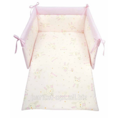Bedding set for Bunny crib the Art: 12/CP/BU/R